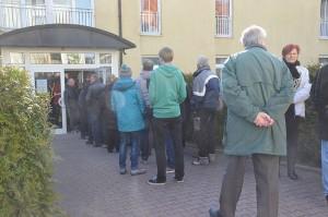 Tag der offenen Tür im Pappritzer Asylbewerberheim