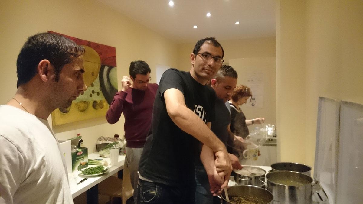 Kochen für 20---kein Problem